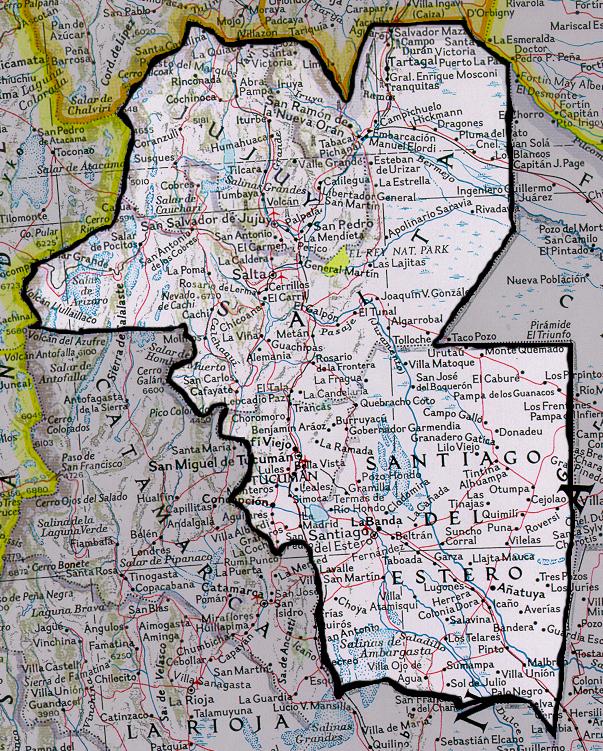 Argentina Salta Mission MAS Road Map