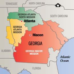 Georgia Atlanta North Mission | Mission Info