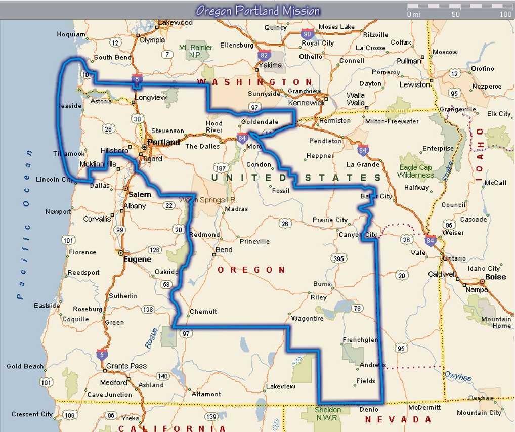 Oregon Portland Mission Alumni | Mission Info