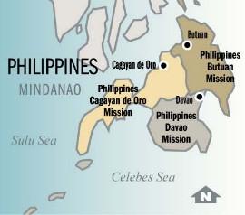 Cagayan Philippines Map.Philippines Cagayan De Oro Mission Alumni Mission Info